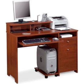 Legend Computer Workstation in Tuscany Brown