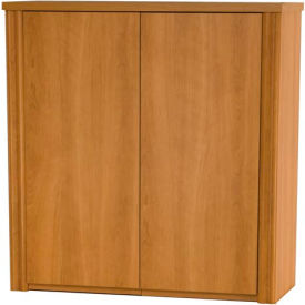 """Embassy 36"""" 2-Door Cabinet for Lateral File in Cappuccino Cherry"""