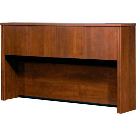 Bestar® Hutch for Credenza in Tuscany Brown - Embassy Series