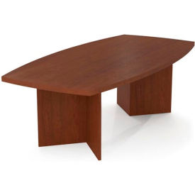 "Bestar Conference Table - 95-1/2"" x 47-1/2"" - Bordeaux"