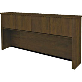 "Bestar® Hutch for Credenza - 71"" - Chocolate - Prestige+"
