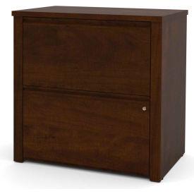 "Bestar® Lateral File Cabinet - 30"" - Chocolate - Prestige+"
