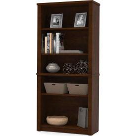 "Bestar® Modular Bookcase - 66-3/4""H - Chocolate - Prestige+"
