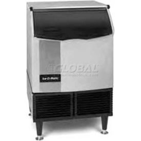 Cube Ice Maker, Undercounter, Water-Cooled, Approx 175 Lb Production Half Size Cube by