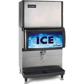 Ice Dispenser, Counter Model, Approximately 250 Lb Storage Capacity Cube And Pearl Ice