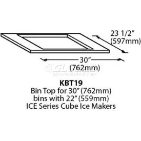 "Bin Top & Bin Level Kit, For 22"" Cuber"