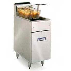 Fryer, 240 Electric, 50 Lb. Fat Cap, Tilt-Up Element