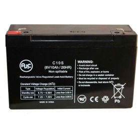 AJC® North Supply 782395 6V 10Ah Sealed Lead Acid Battery