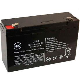 AJC® National Power GS028R2 6V 12Ah Sealed Lead Acid Battery