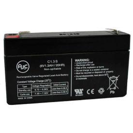 AJC® MK ES1.2-6 (6V 1.3AH) 6V 1.3Ah Wheelchair Battery