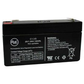 AJC® Long WP1.3-6 6V 1.3Ah Sealed Lead Acid Battery