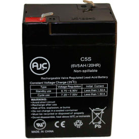 AJC Abbott Laboratories PCA Syringe Pump 6V 5Ah Medical Battery by