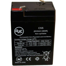 AJC® Kung Long WP56F LANTREN 6V 5Ah Sealed Lead Acid Battery