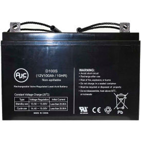 AJC® Universal Power UB121000 (45978) 12V 100Ah Sealed Lead Acid Battery