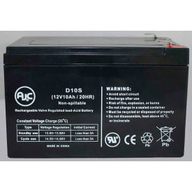 AJC® OUTDO OT10-12 12V 10Ah Sealed Lead Acid Battery