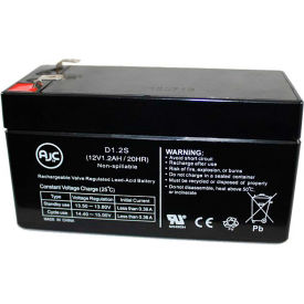 AJC® MK ES1.2-12 Patriot (12V 1.2AH) 12V 1.2Ah Wheelchair Battery
