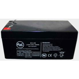 AJC® Panasonic LCR123P4PU 12V 3.2Ah Sealed Lead Acid Battery