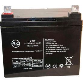 AJC® Quickie P110 (14 Inch wide) U1 AGM 12V 35Ah Wheelchair Battery