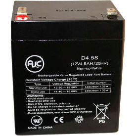 AJC® Interstate ASEC1075 12V 4.5Ah Sealed Lead Acid Battery