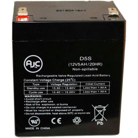 AJC® Amstron 12V 5Ah 12V 5Ah Wheelchair Battery
