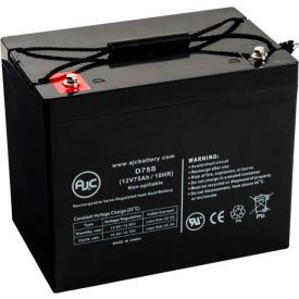 AJC® Power-Sonic PS-12750BW 12V 75Ah Sealed Lead Acid Battery