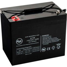 AJC Panasonic LC-L1265P 12V 75Ah Sealed Lead Acid Battery by