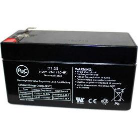 AJC® PowerVar Security One ABCE800-22 ABCEG800-22 12V 7Ah UPS Battery