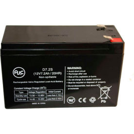 AJC® Bruno SRE-2750FR LT 12V 7Ah Wheelchair Battery