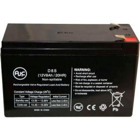 AJC® Sola S4K2U2000C 12V 8Ah UPS Battery