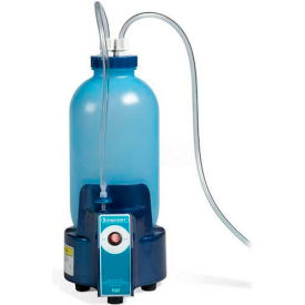 Bel-Art Vacuum Aspirator Collection System 199170150, 1 Gallon Bottle with Pump, Blue, 1/PK