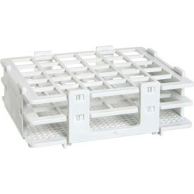 Bel-Art No-Wire™ Test Tube Half Rack 187480016, For 13-16mm Tubes, 30 Places, White, 1/PK