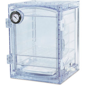 Bel-Art F42400-4031 Lab Companion Clear Polycarbonate Vacuum Desiccator Cabinet, 45 Liter by