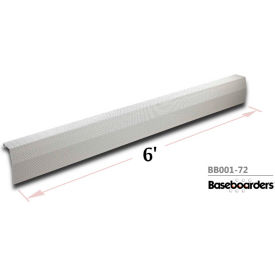 Baseboarders® 6' Length Premium Baseboard Heater Cover Panel Only BB001-72