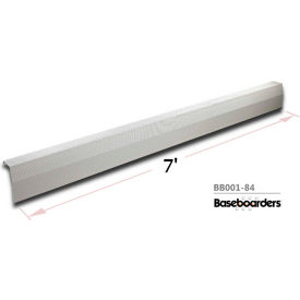 Baseboarders® 7' Length Premium Baseboard Heater Cover Panel Only BB001-84
