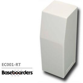 Baseboarders® Right Side Closed Premium Endcap EC001-RT