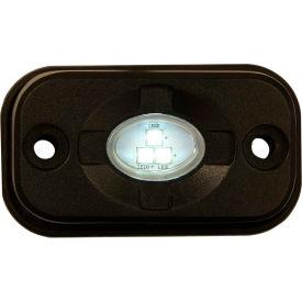 "Buyers 3 x 1.5"" Rectangular Clear Flood Light With 3 LED - 1492139"
