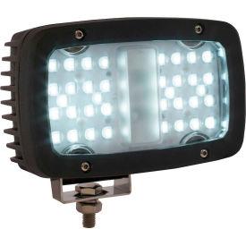 """Buyers 6.3"""" Rectangular 36 LED Floodlight - 1492194"""