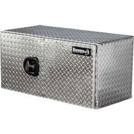 Buyers Aluminum Underbody Truck Box w/ Double Barn Door - 24x24x48 - 1702240