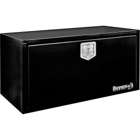 Buyers Steel Underbody Truck Box w/ Stainless Steel T-Handle - Black 18x18x30 - 1702303