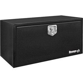 Buyers Steel Underbody Truck Box w/ Stainless Steel T-Handle - Black 18x18x36 - 1702305