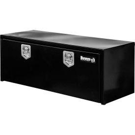 Buyers Steel Underbody Truck Box w/ Stainless Steel T-Handle - Black 18x18x60 - 1702315