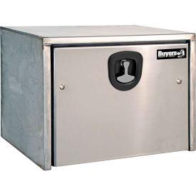 Buyers Stainless Steel Underbody Truck Box w/ SS Door - 18x18x36 - 1702605