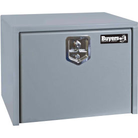 Buyers Steel Underbody Truck Box w/ Stainless Steel T-Handle - Primed Gray 18x18x24 - 1702900
