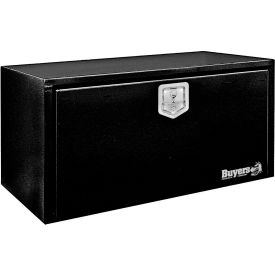 Buyers Steel Underbody Truck Box w/ Stainless Steel T-Handle - Black 14x16x24 - 1703300