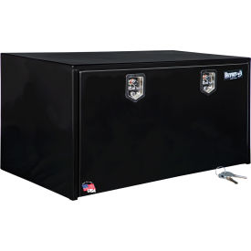 Buyers Steel Underbody Truck Box w/ Stainless Steel T-Handle - Black 24x24x48 - 1704310