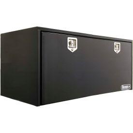 Buyers Steel Underbody Truck Box w/ Stainless Steel T-Handle - Black 24x24x60 - 1704315