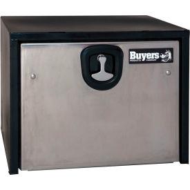 Buyers Steel Underbody Truck Box w/ SS Door - Black 24x24x48 - 1704710