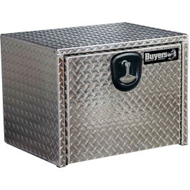 Buyers Aluminum Underbody Truck Box w/ T-Handle - 18x18x24 - 1705100
