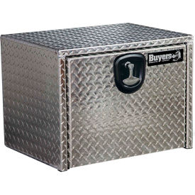 Buyers Aluminum Underbody Truck Box w/ T-Handle - 18x18x30 - 1705103