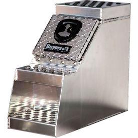 Buyers Aluminum Truck Step Box 24 x 28 x 24 - 1705182